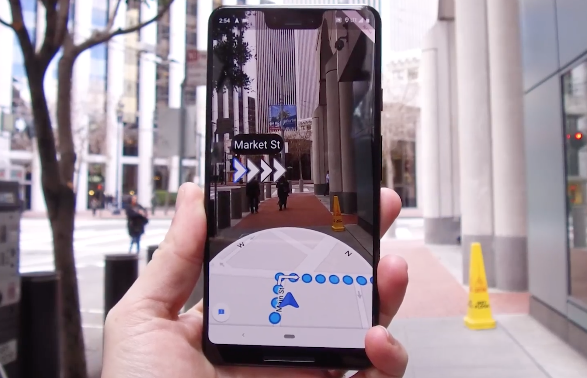 Google Maps is finally getting that crazy AR walking navigation