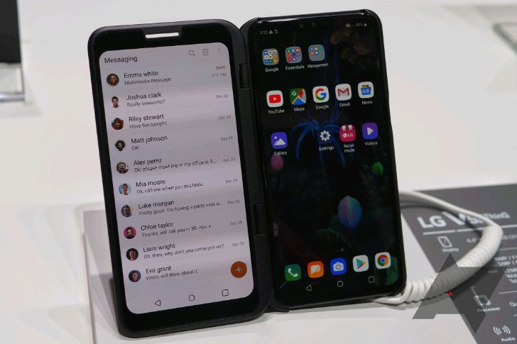 LG postpones release of the 5G V50 in South Korea over unspecified troubles