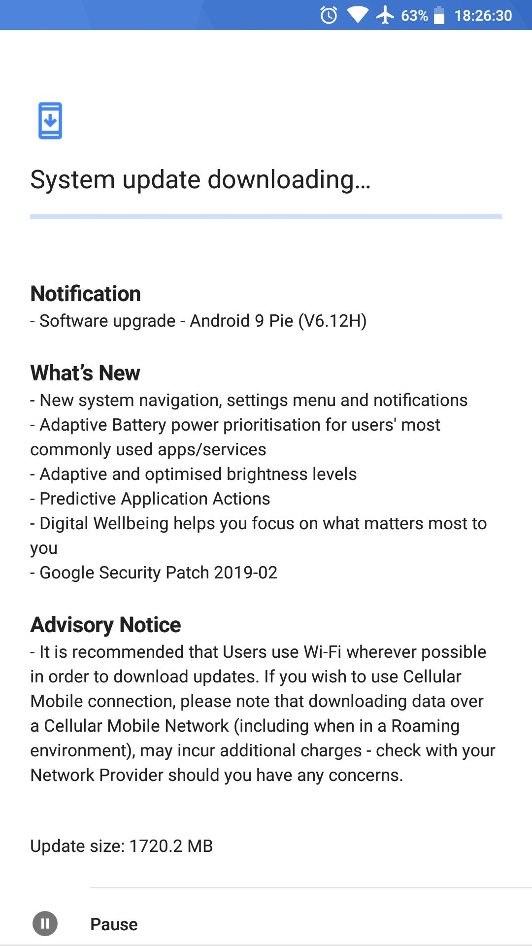 Nokia 6 (2017) gets Android 9 Pie as HMD keeps its 2-year update promise