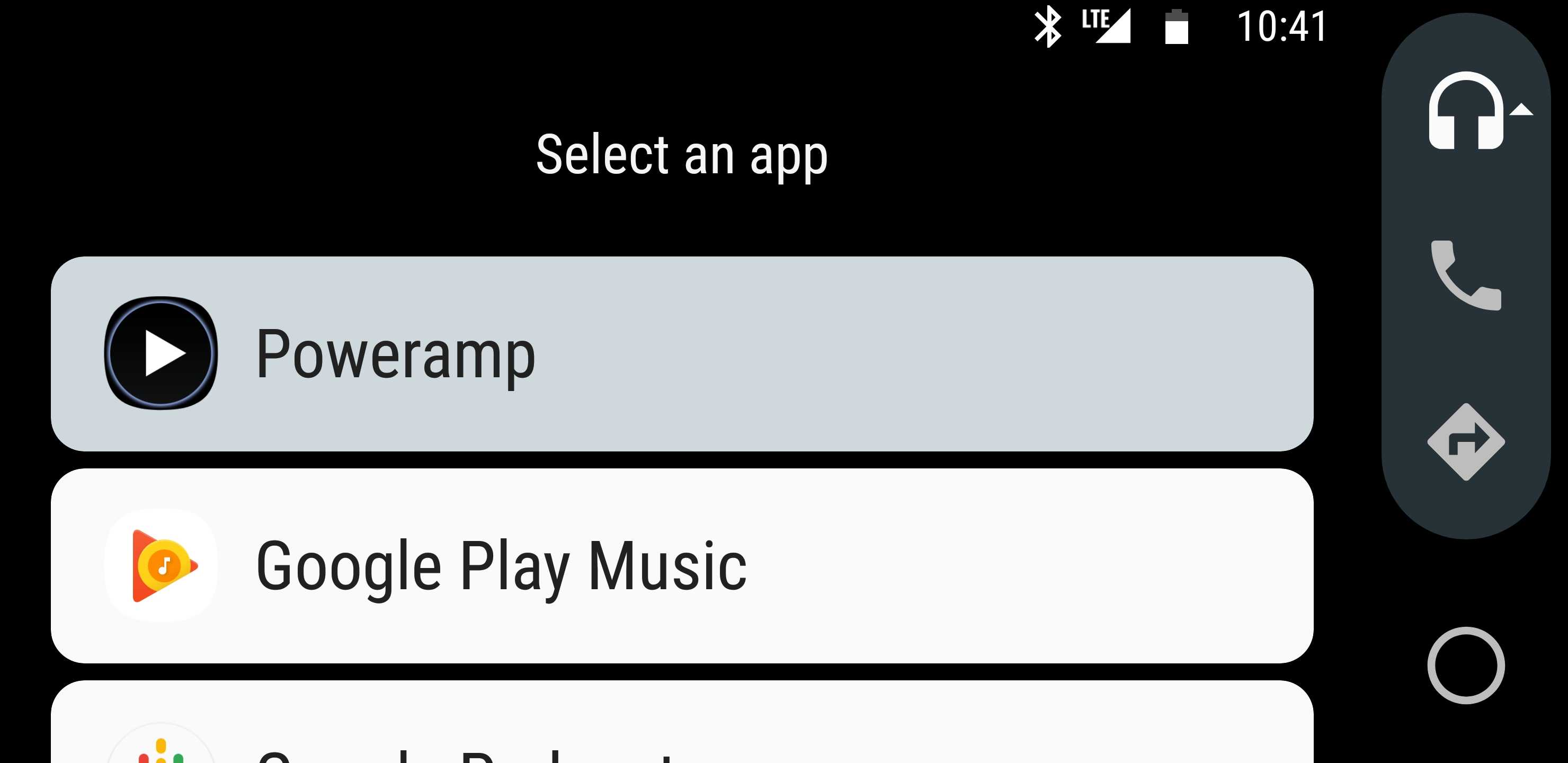 Popular music player Poweramp adds support for Android Auto