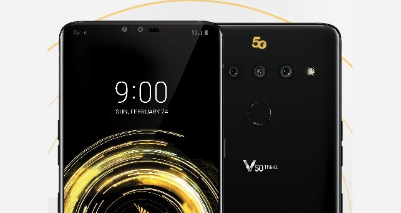 LG V50 ThinQ will be LG's first 5G smartphone