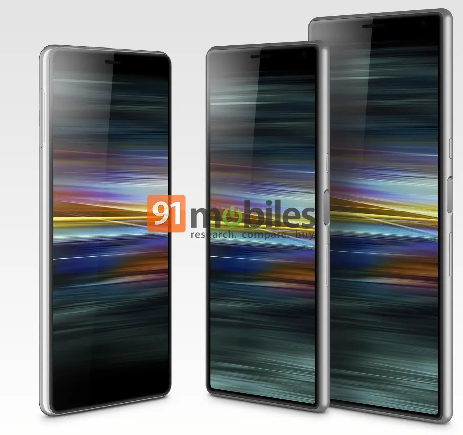 Sony Xperia 1, 10, 10 Plus, and L3 leak in full ahead of Mobile World Congress
