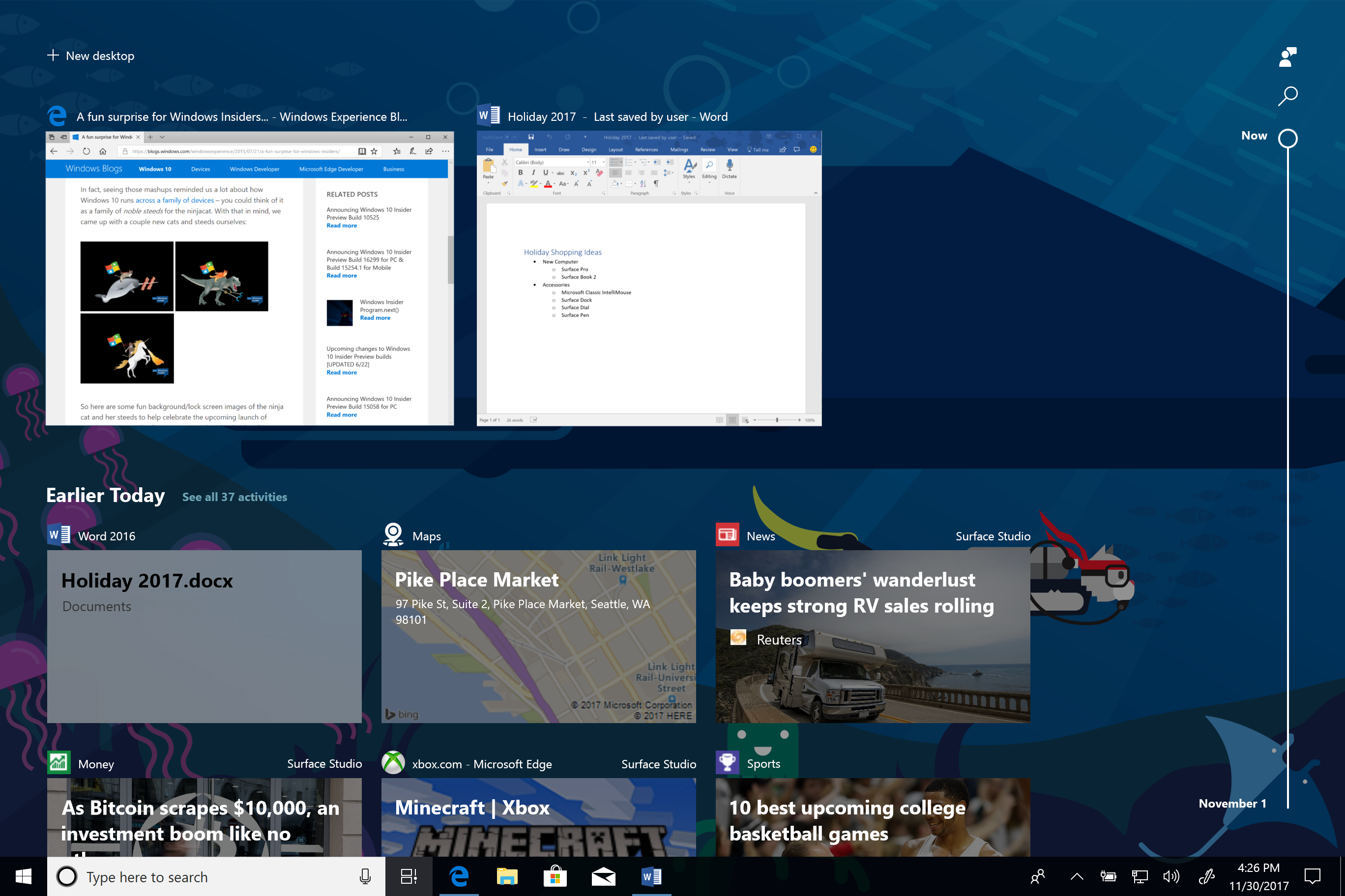 New Chrome extension enables Microsoft's Windows Timeline