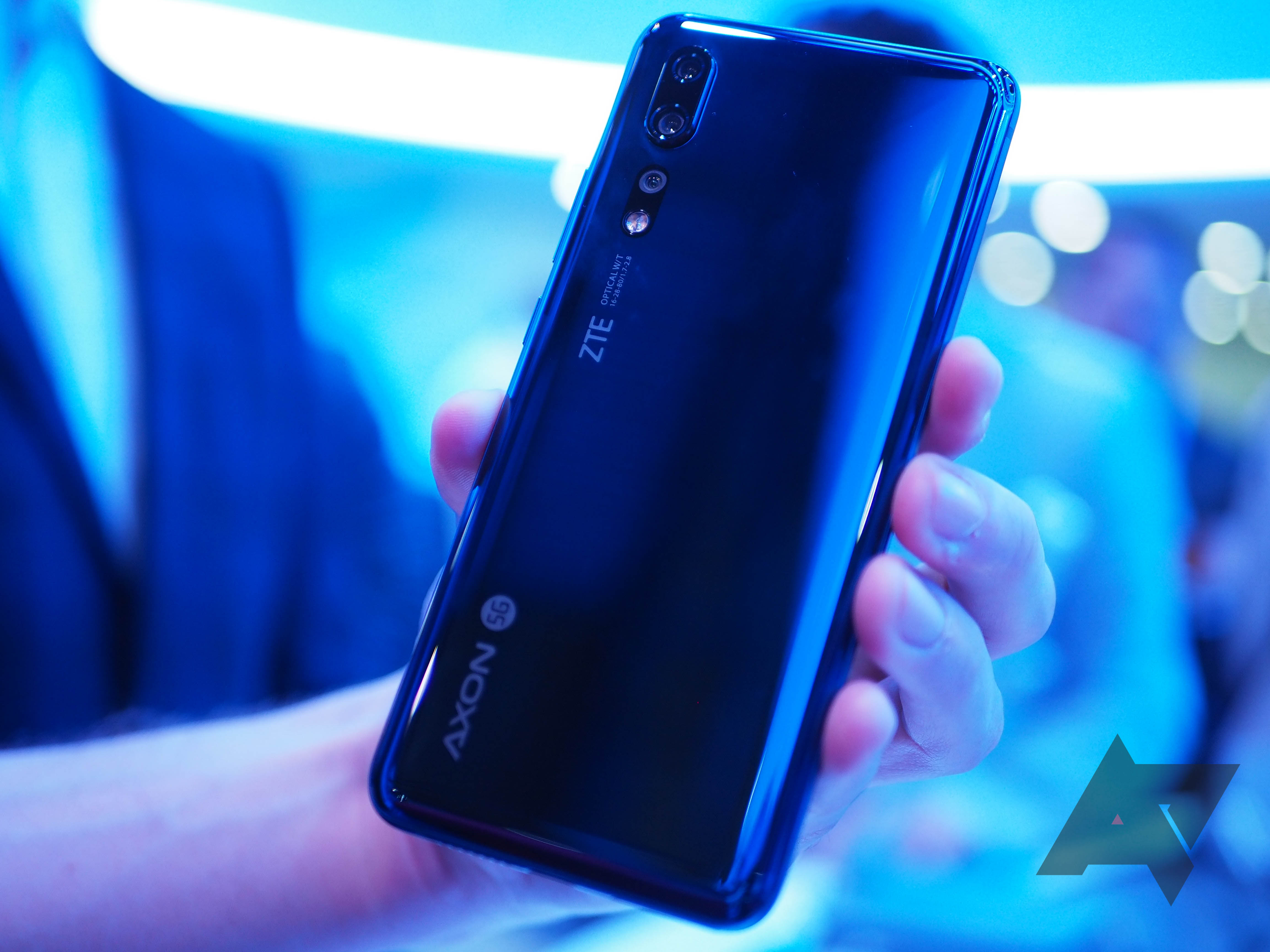 The ZTE Axon 10 Pro 5G has four names, five gees