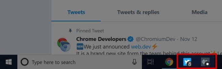 Chrome 73 PWA