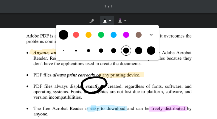 Google adds PDF annotation feature to Chrome OS Dev/Canary