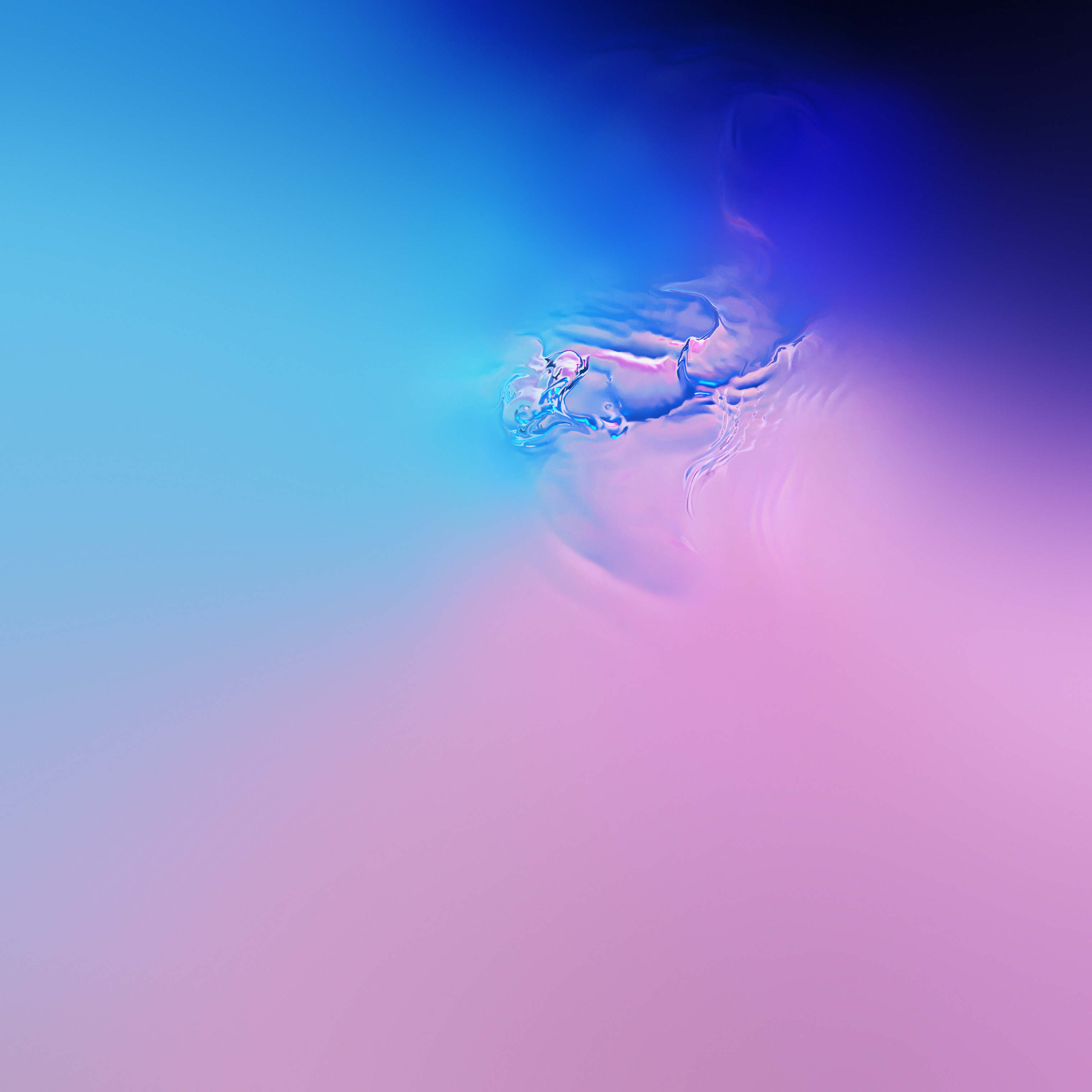 Samsung S Official Galaxy S10 Wallpapers All Try Really Hard To Hide The Display Cutout