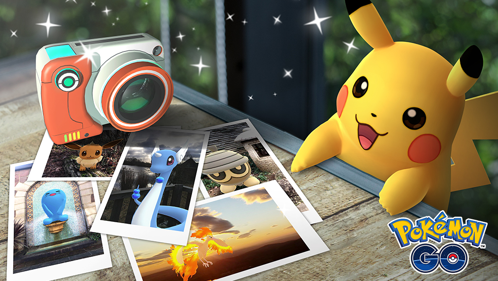 Pokemon GO Snapshot brings Pokemon Snap into the real world