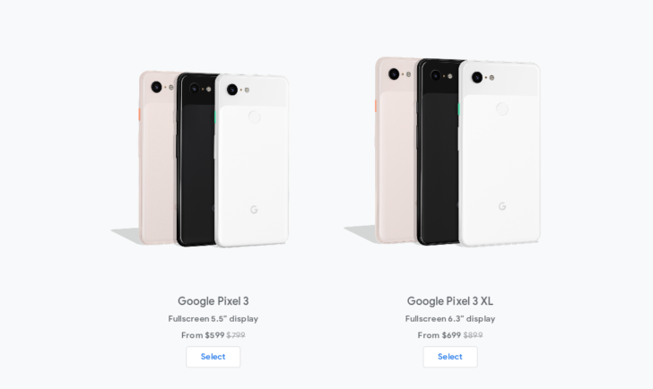 Update x2: Also on Fi] Google drops Pixel 3 prices even