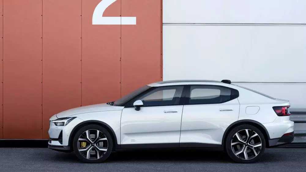 Discreet performance: the all-electric Polestar 2
