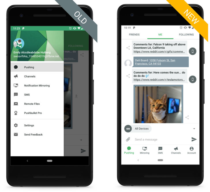 Pushbullet gets its first major update in ages with a new UI