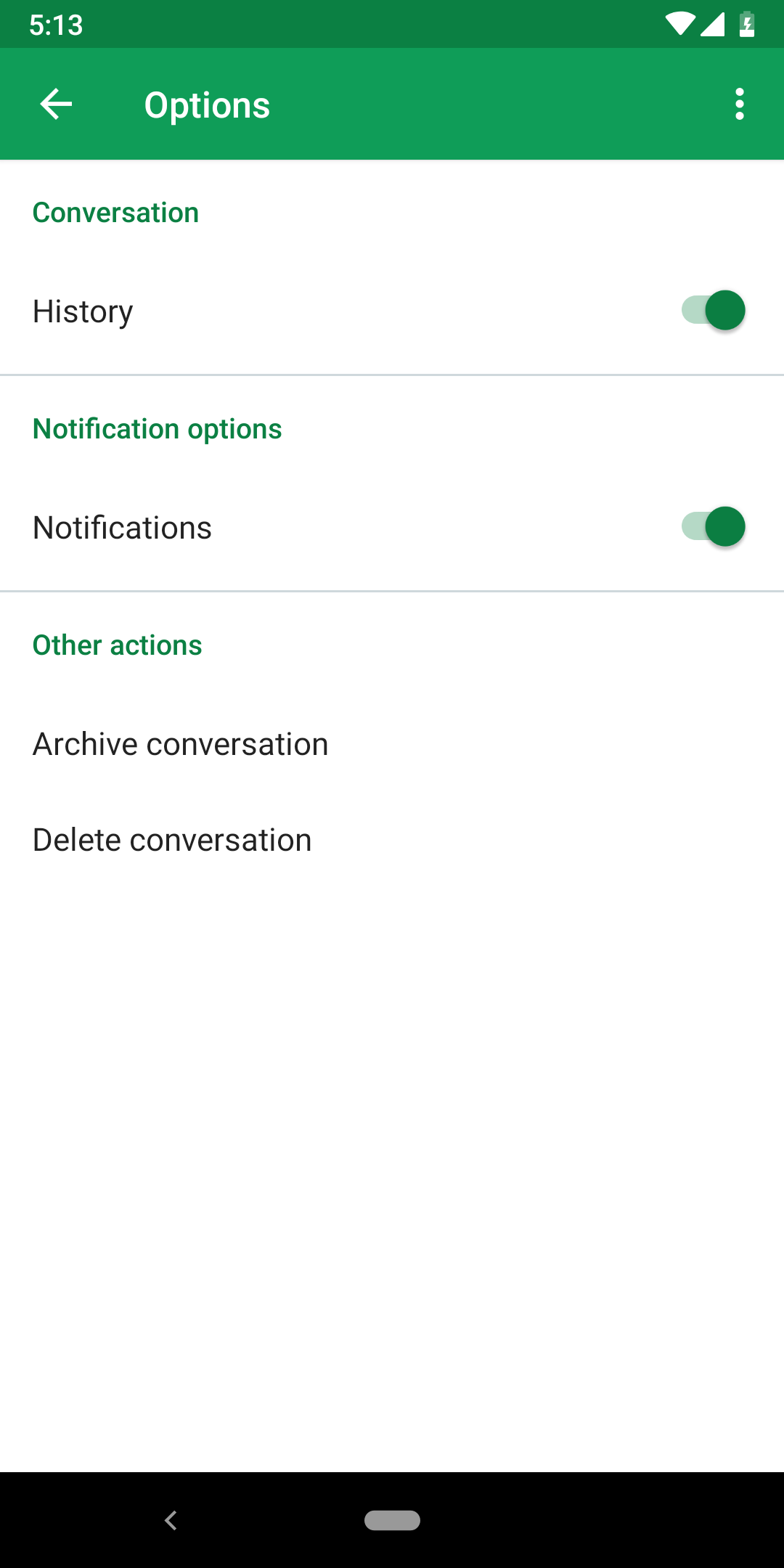 Google Hangouts v29 adopts notification channels while dropping some