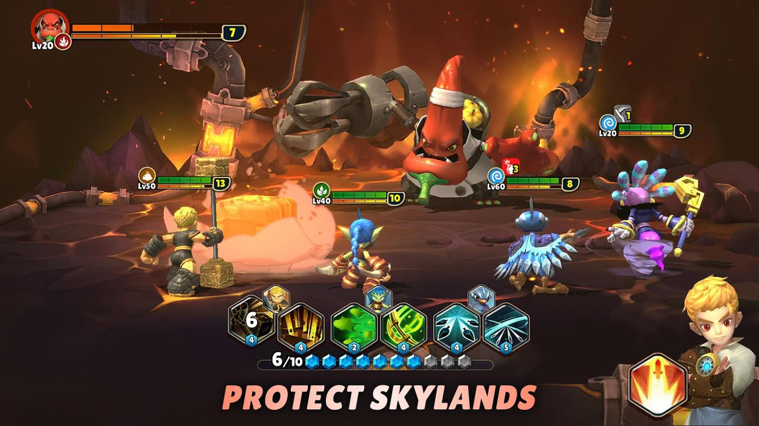 Skylanders Ring of Heroes lands on the Play Store with all your