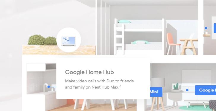 Google leaks Nest Hub Max