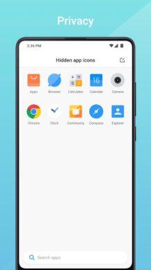 Xiaomi's Mint Launcher يأتي إلى متجر جوجل بلاى