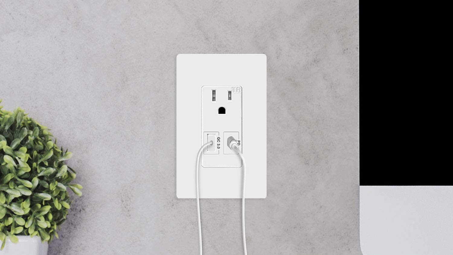 TopGreener's wall outlet with USB-PD and Quick Charge ports is down to $34 (15% off)
