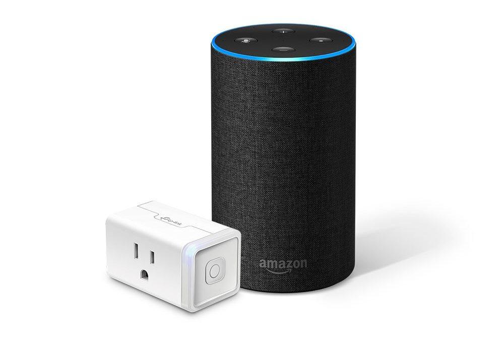 The Amazon Echo and TP-Link Smart Plug Mini bundle is 30