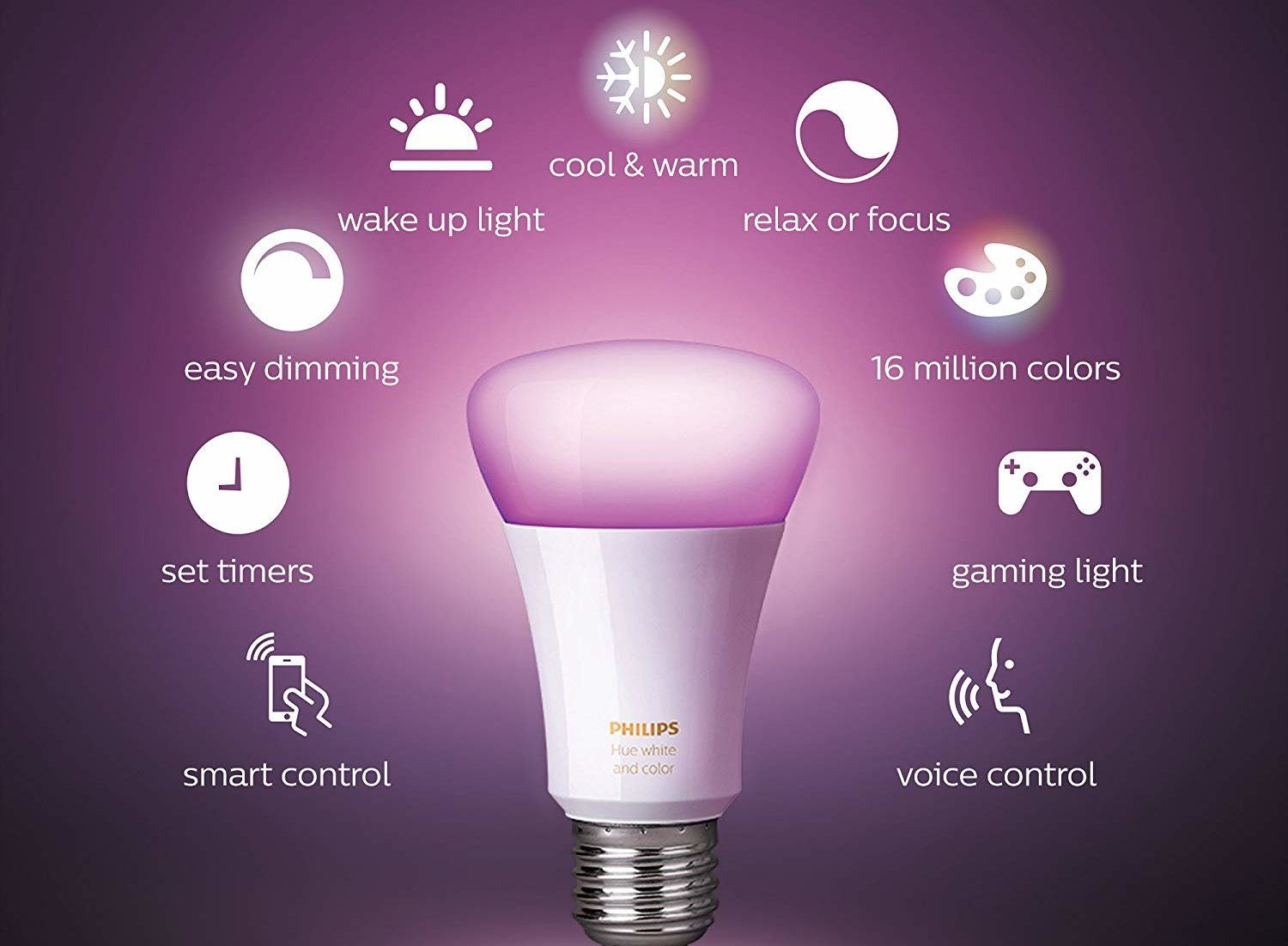 Pick Up A Philips Hue Color Capable Smart Bulb For 36