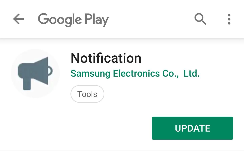 No, the Samsung Notification app update is not dangerous
