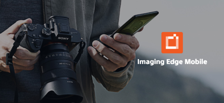 Sony camera app renamed Imaging Edge Mobile, new Transfer