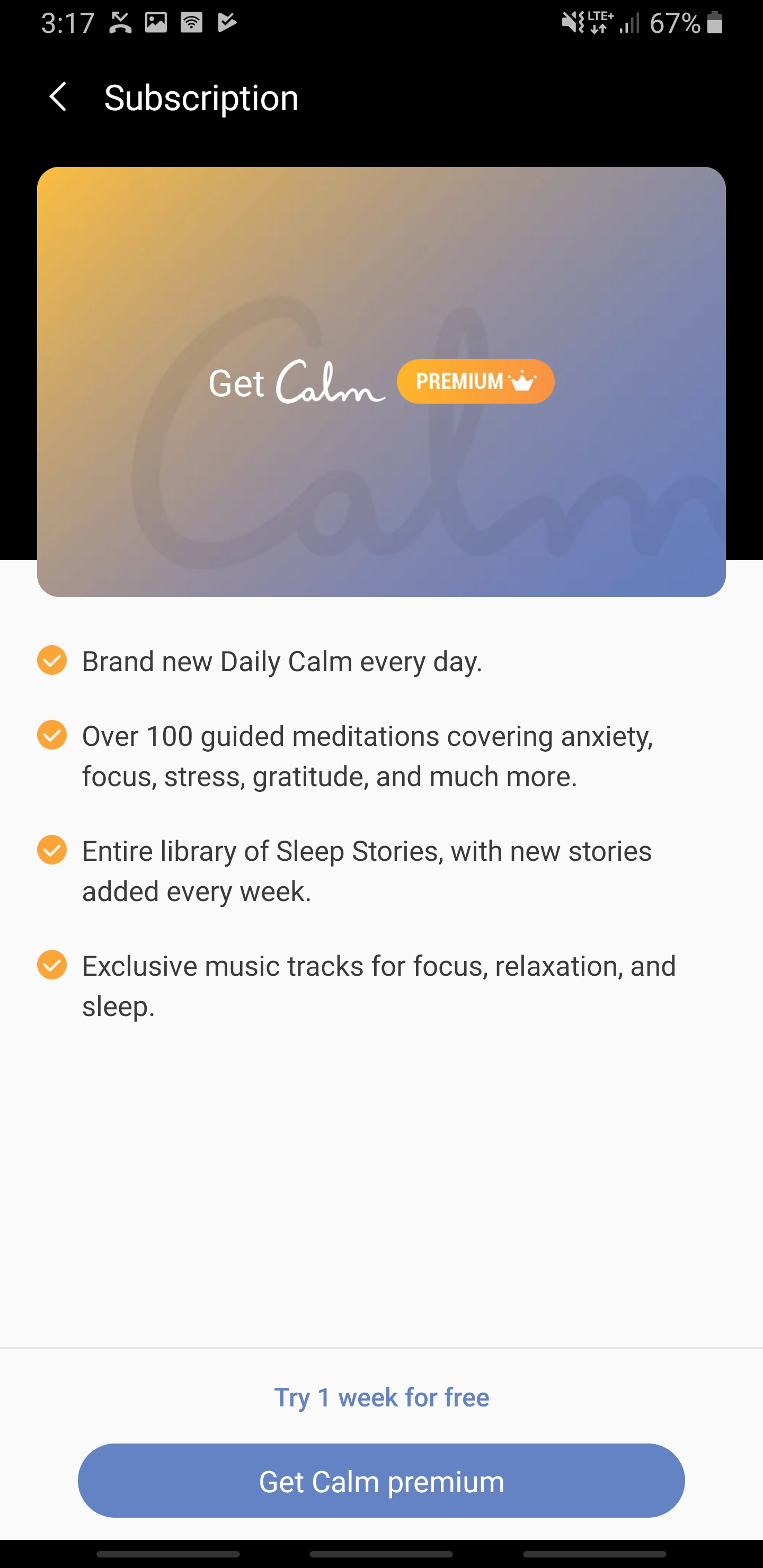 Samsung Health wants you to chill out with the help of new Calm