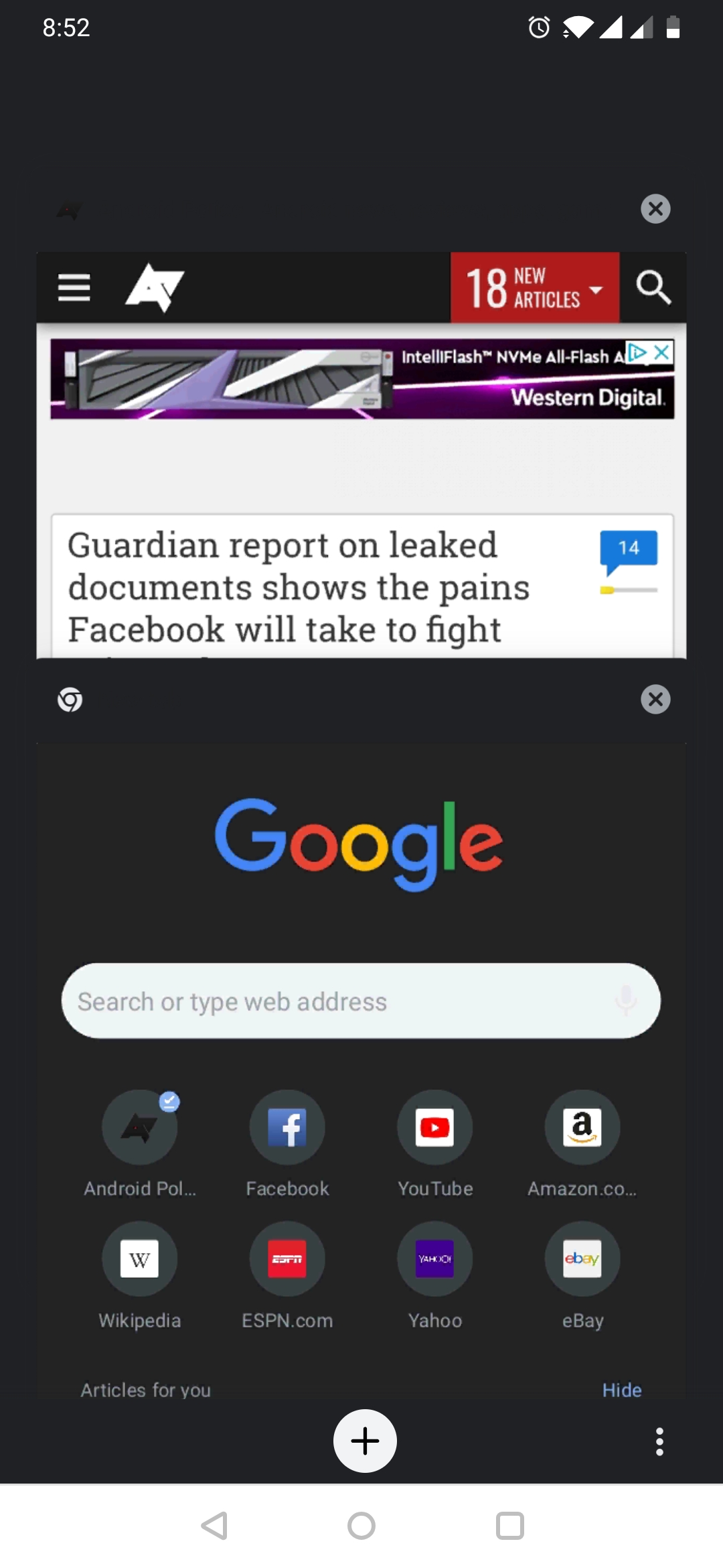 Update: Now in Stable] Chrome Canary now has a (buggy) dark mode