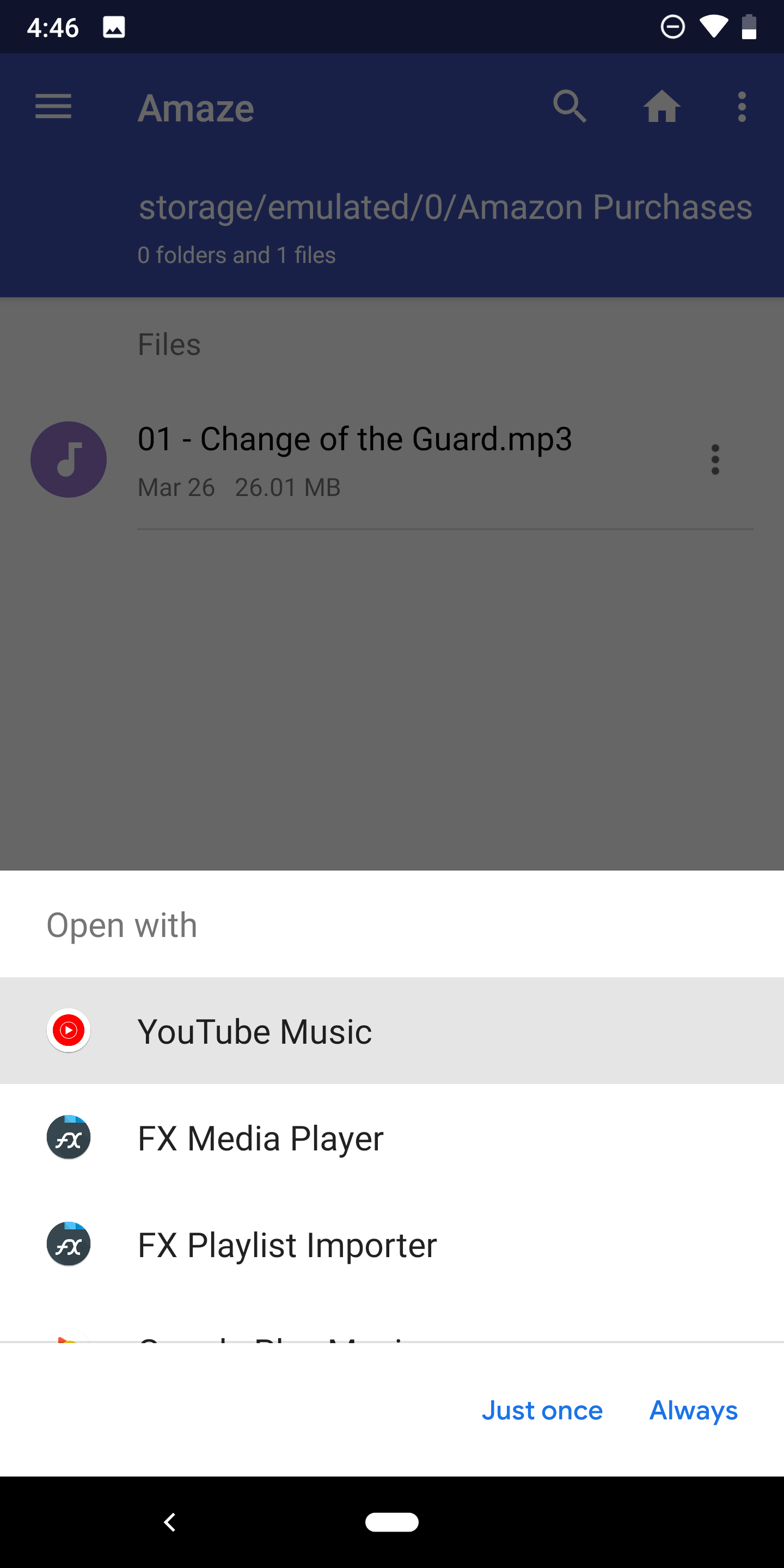 YouTube Music can now act as a media player for files stored on your