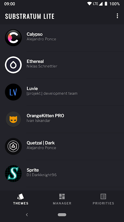 Substratum Lite will offer essential theming features in a smaller