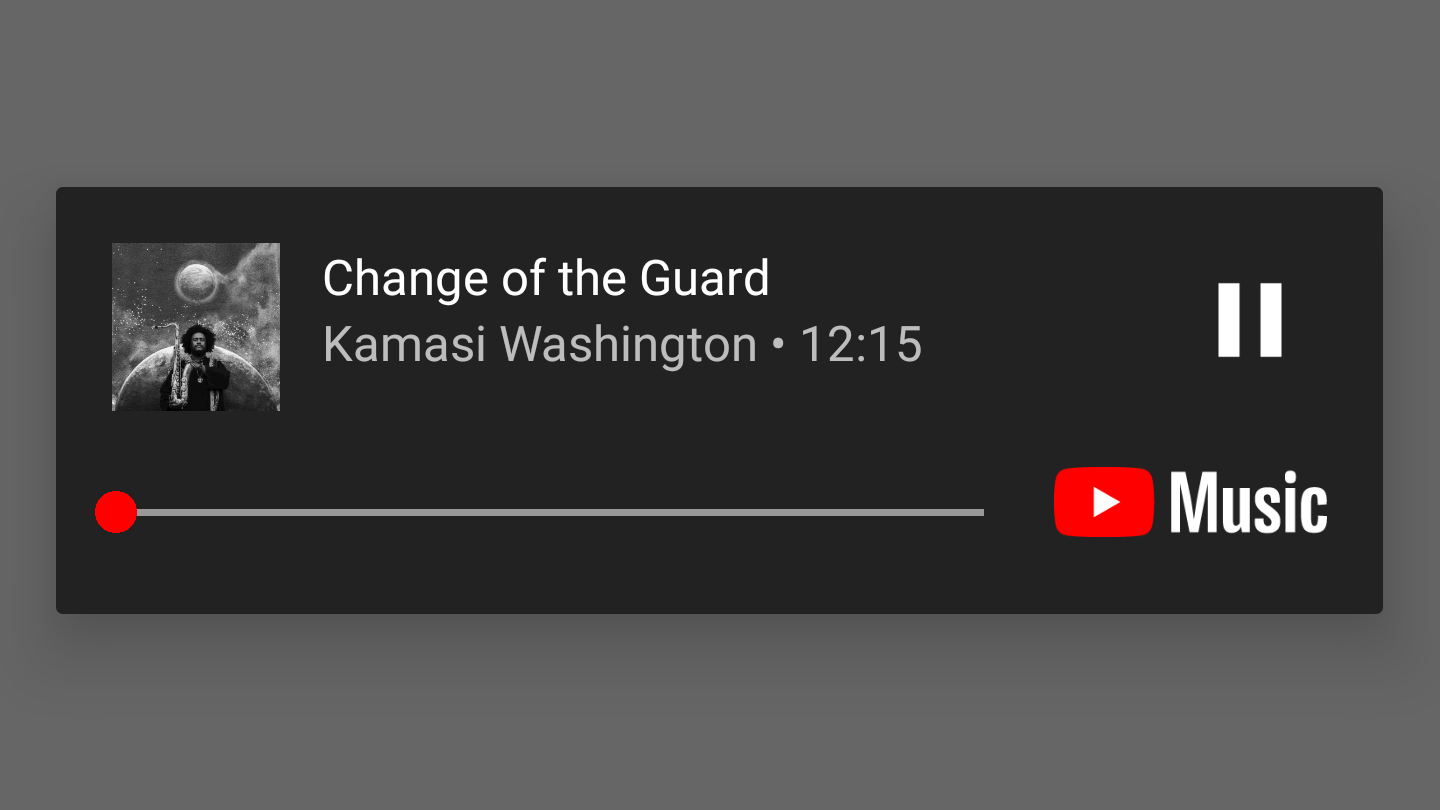 YouTube Music can now act as a media player for files stored on your phone