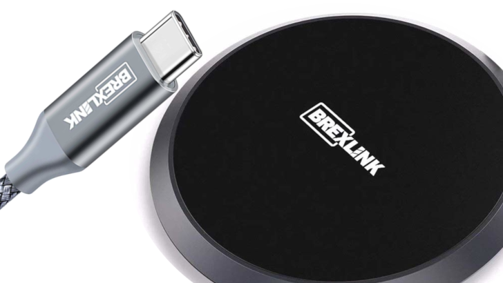 Giveaway: Win one of 20 packs of BrexLink wireless chargers and USB Type-C cables (US)