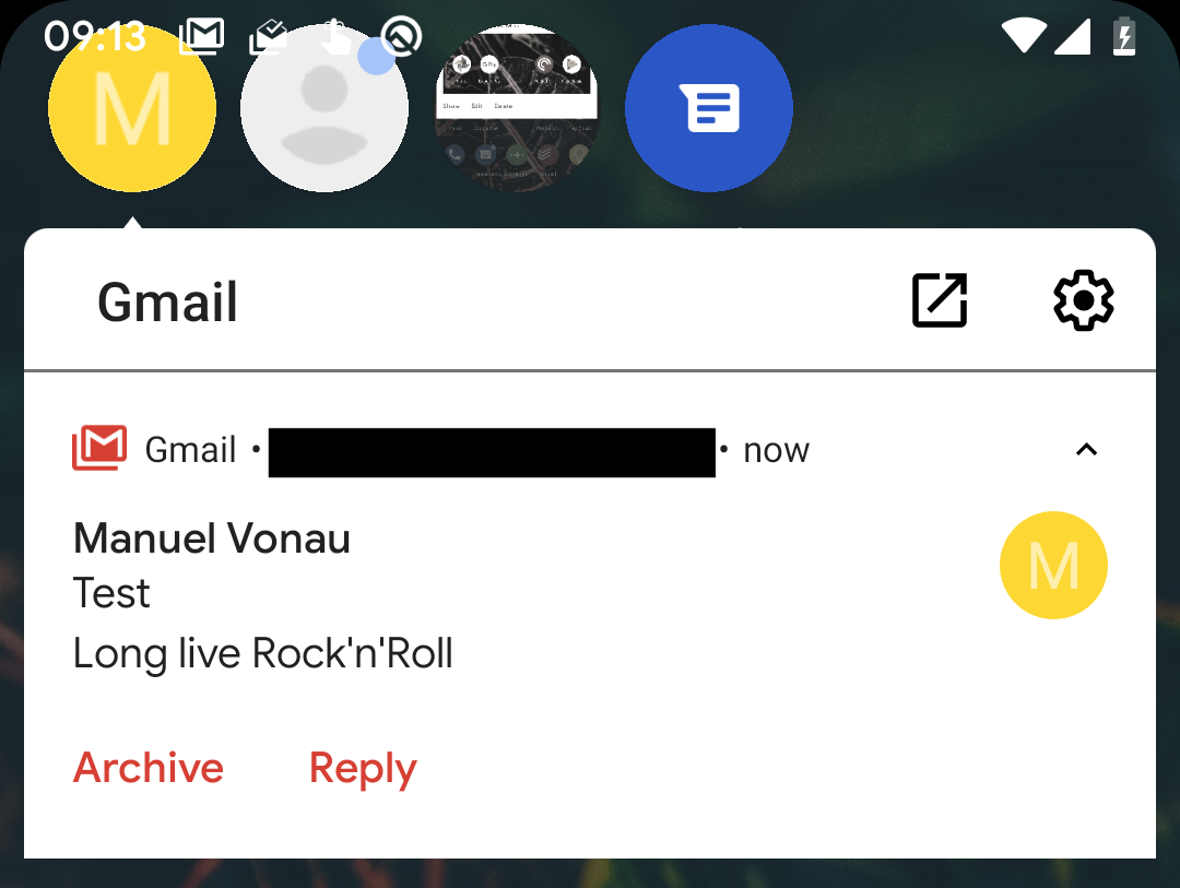 "Android Q adds hidden native ""chat head"" bubbles for all notifications"
