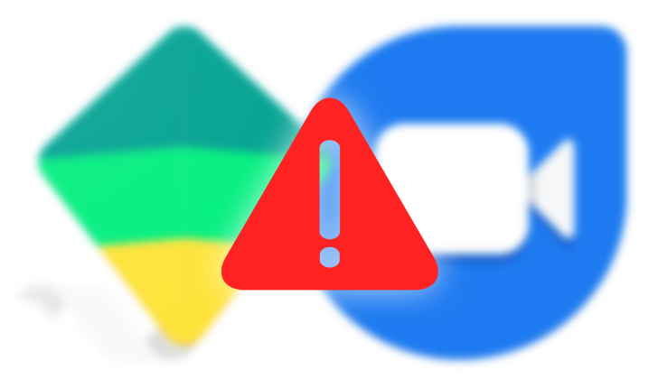 Google Duo doesn't support Family Link accounts, so kids can't use Duo web