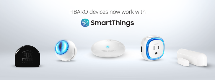 Fibaro's Z-Wave sensors and devices are now compatible with SmartThings