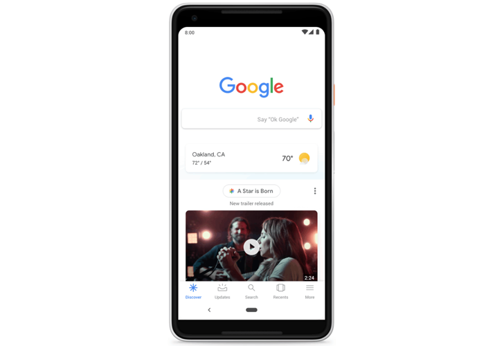 Google's Discover feed is becoming bilingual for more users