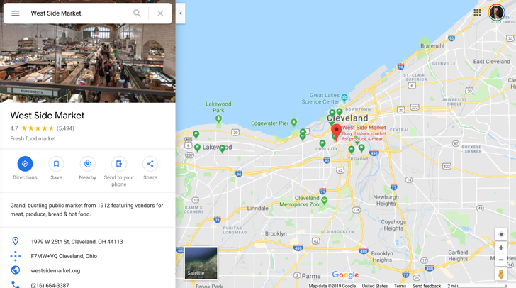 Google Maps web starts getting a Material Design makeover