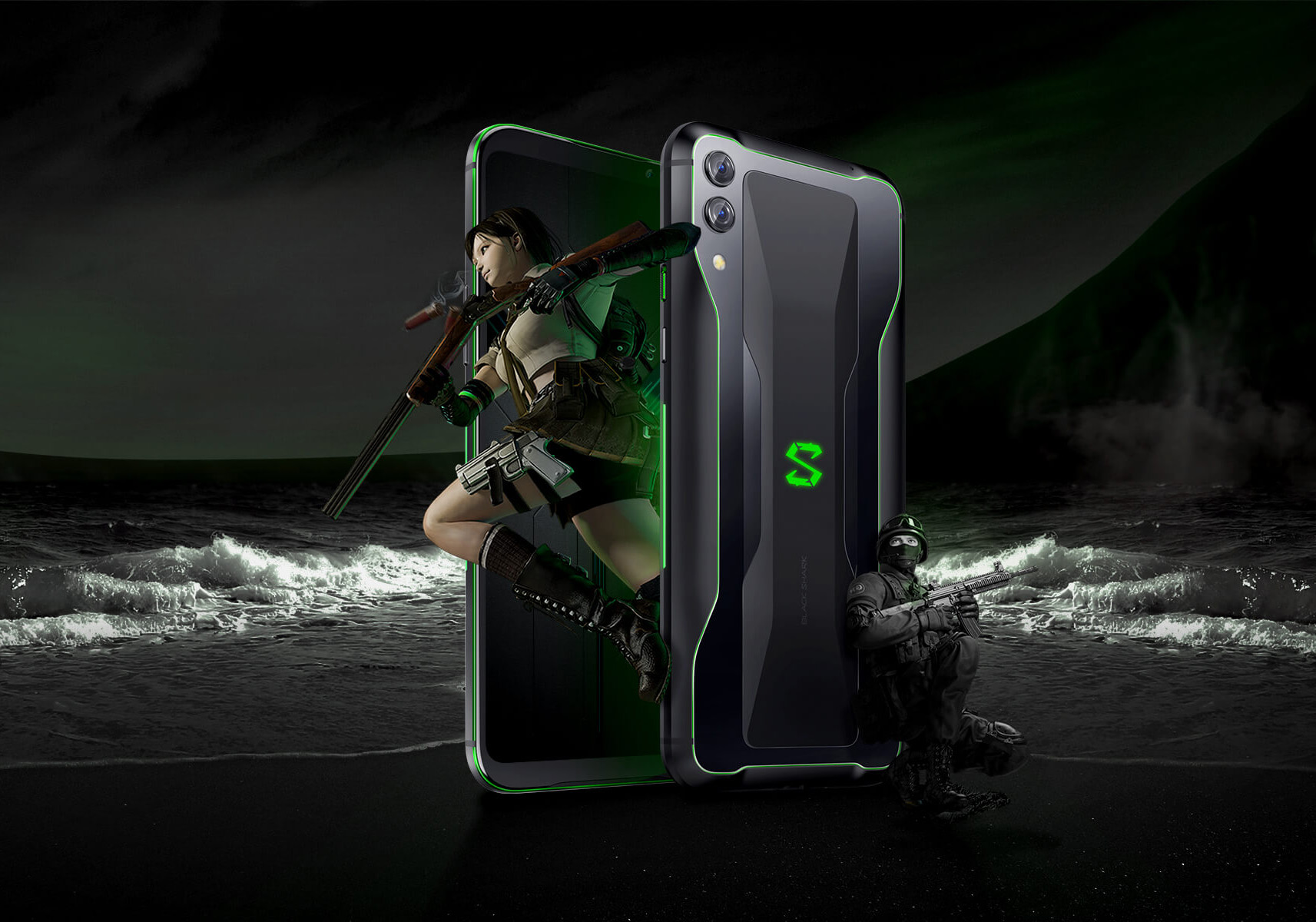 Xiaomi Launches Black Shark 2 Gaming Smartphone with Snapdragon 855 SoC