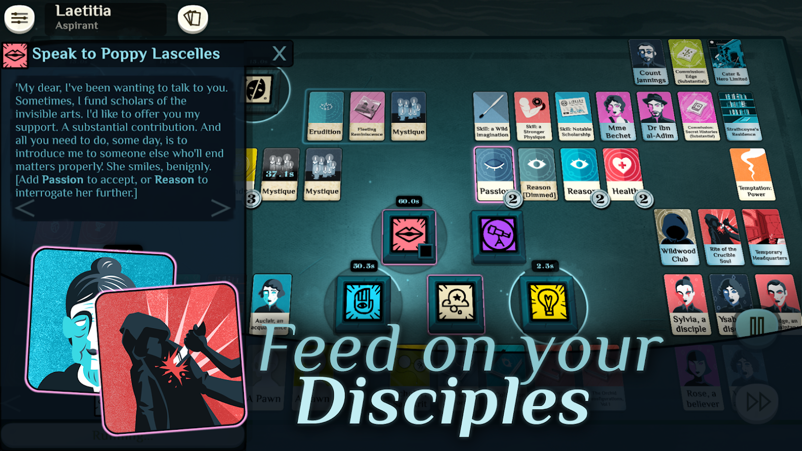 Update: Out now] Lovecraftian card game Cultist Simulator is