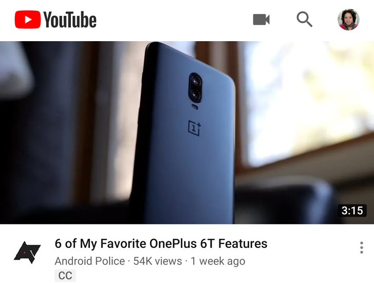 YouTube video titles are bolder, smaller, and fit more words