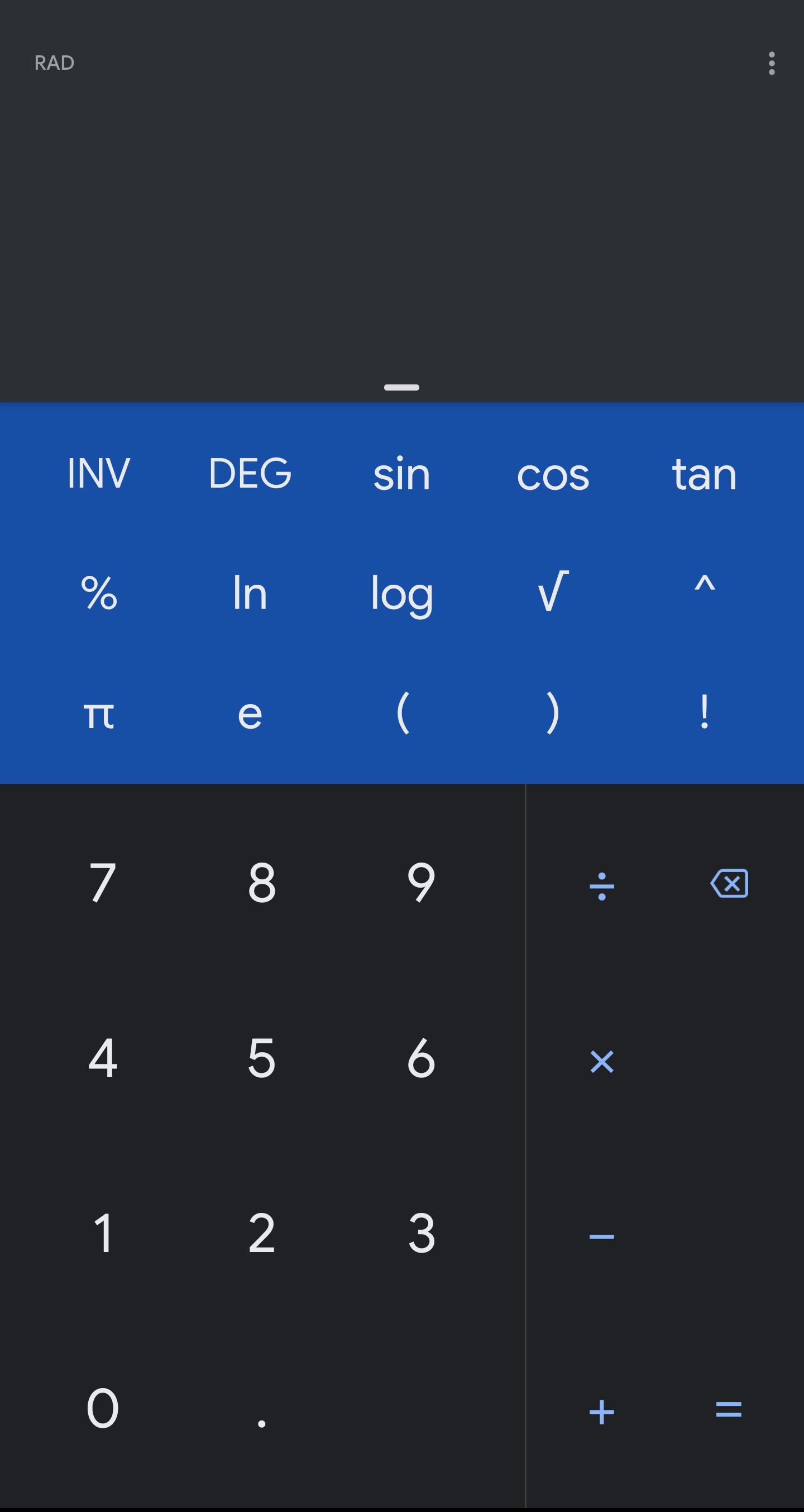 Google Calculator gets dark theme with update to v7 6 [APK