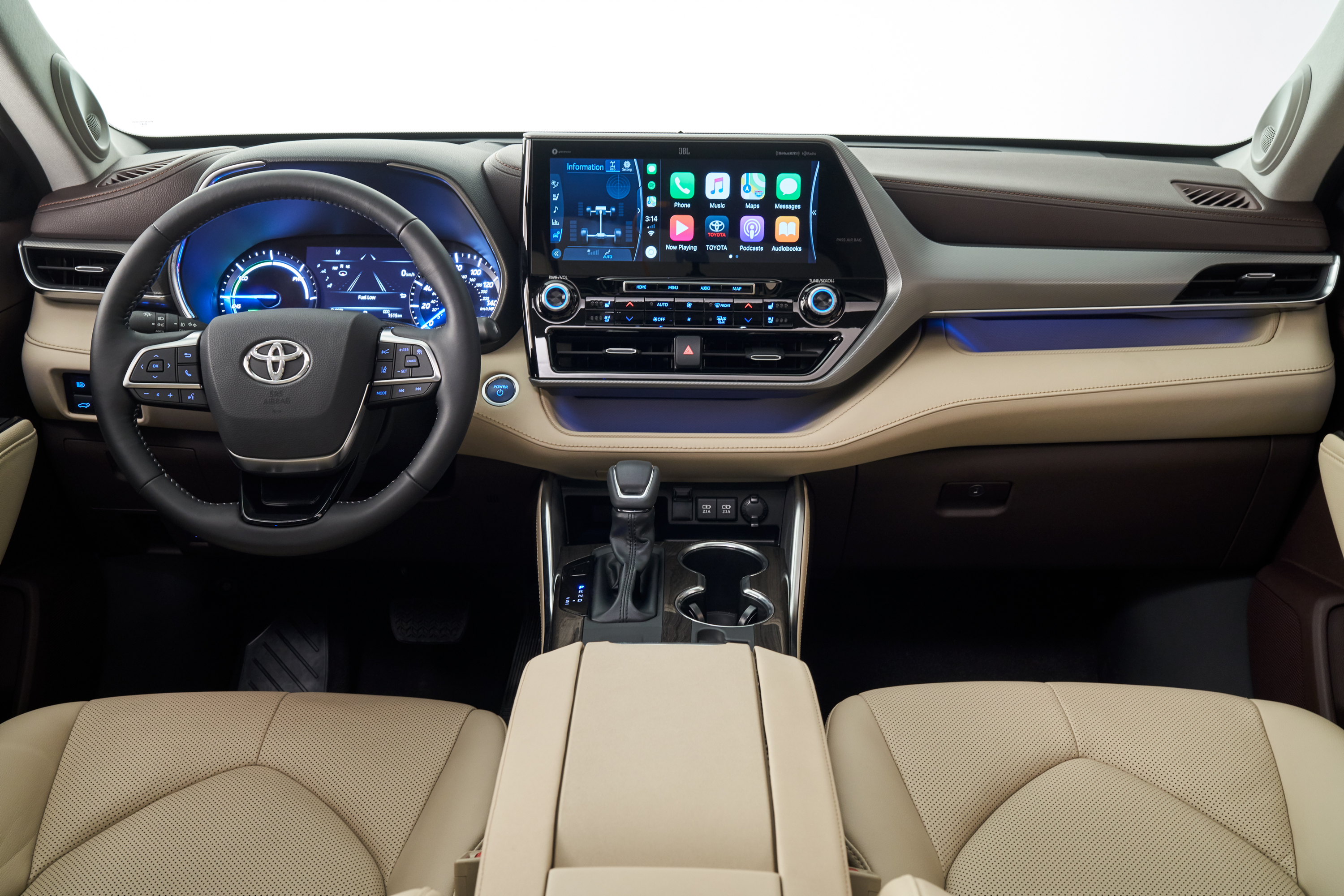The 2020 Toyota Highlander comes with Android Auto standard