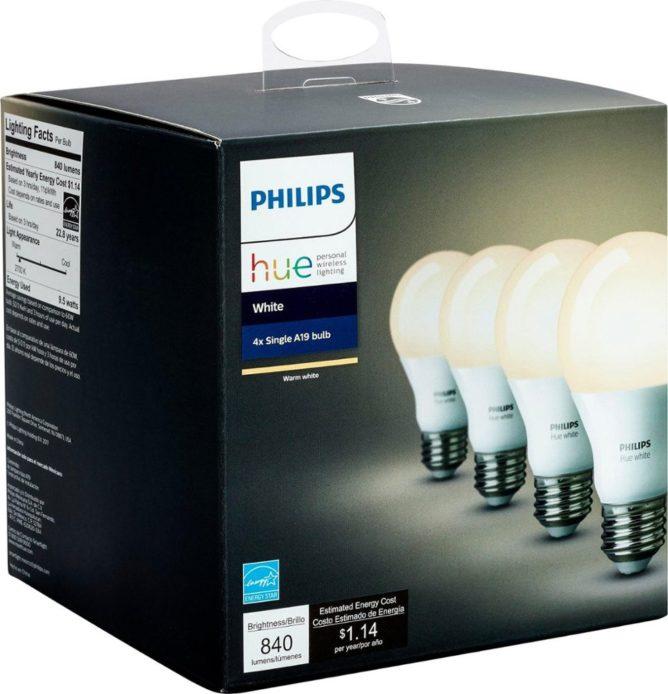 Monday Deals Cheap Hue Bulbs Discounted Smart Speaker