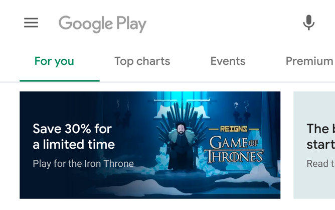 QnA VBage Google is preparing a Material Design revamp for the Play Store