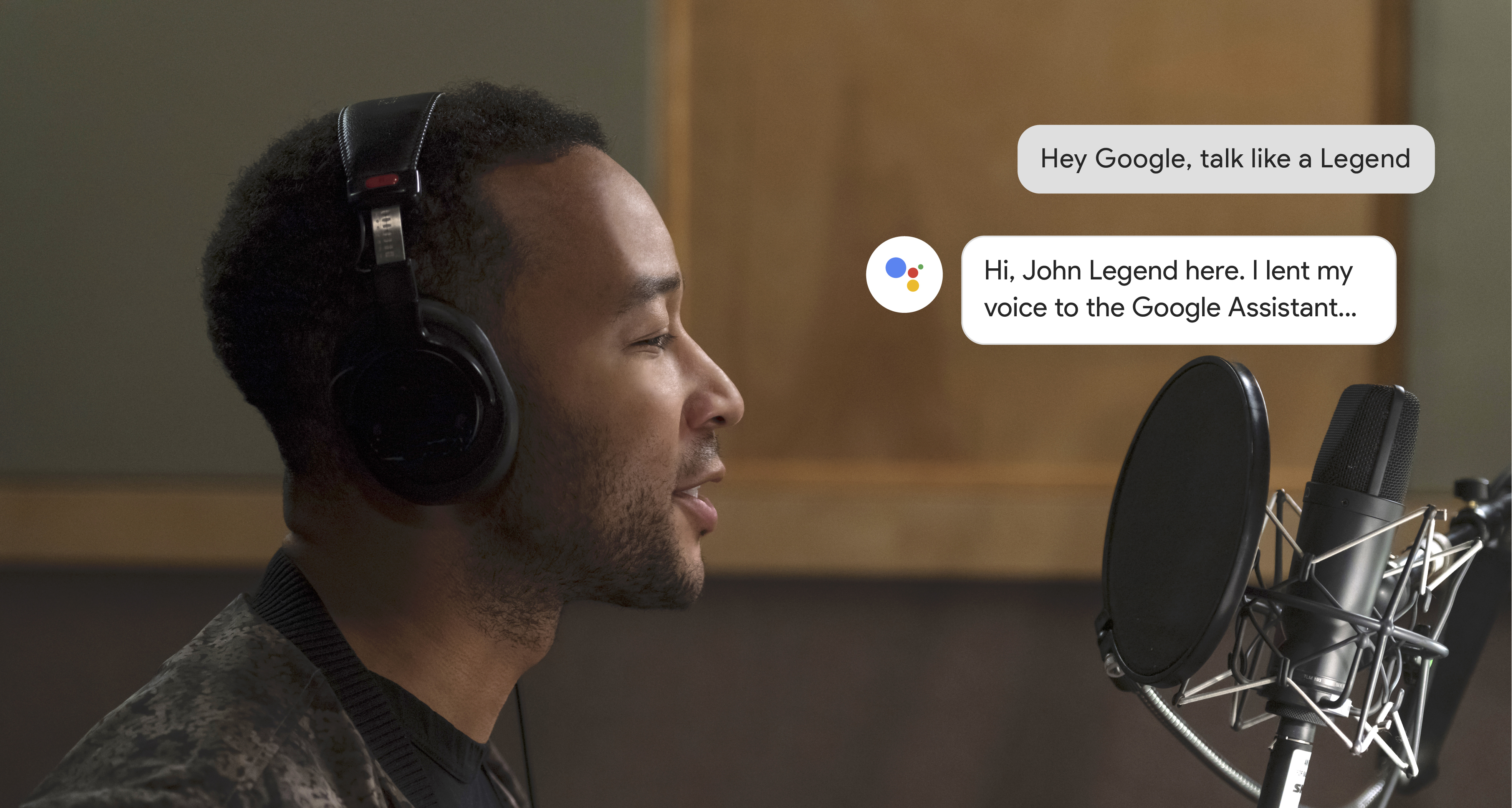 Google Assistant now lets you converse with John Legend