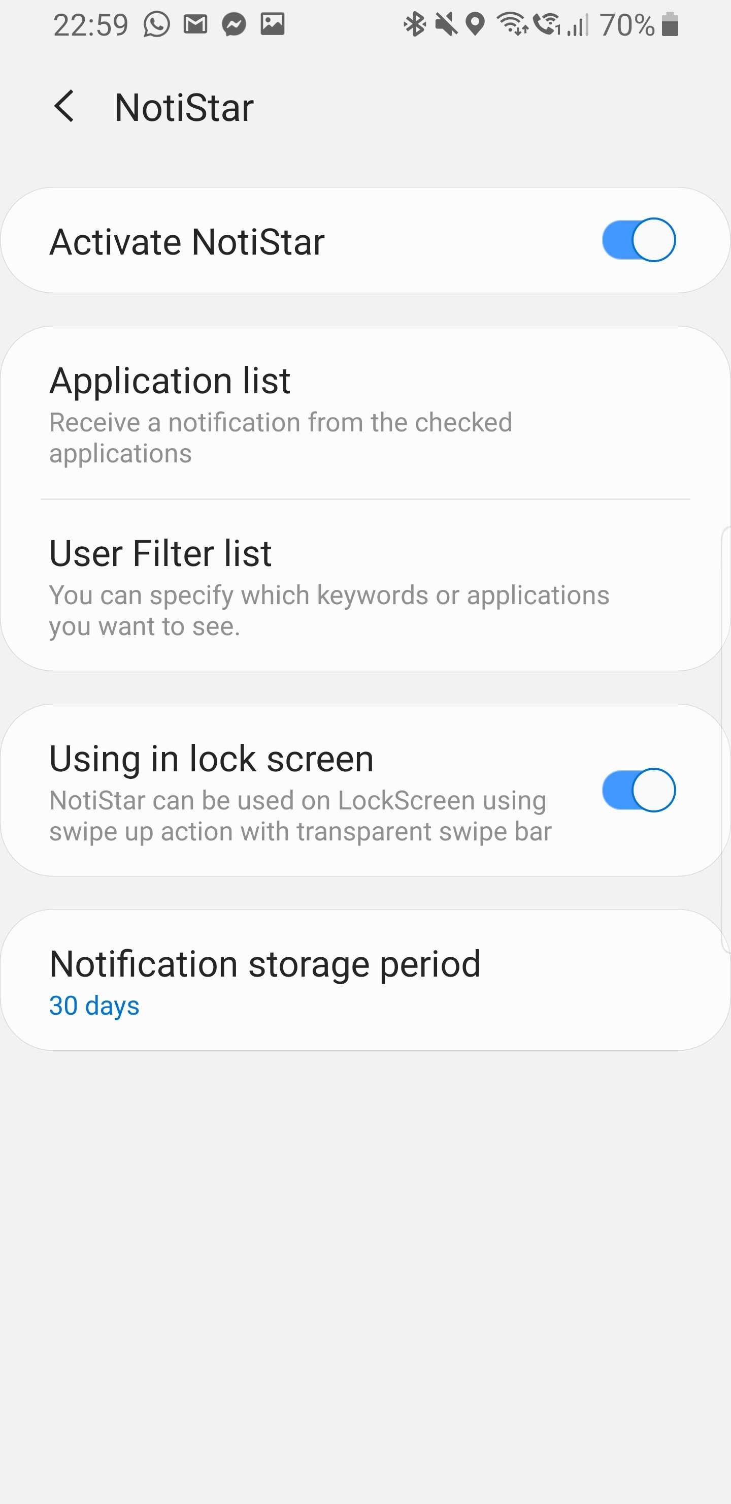 New Good Lock plugins Nice Shot and NotiStar add screen recording