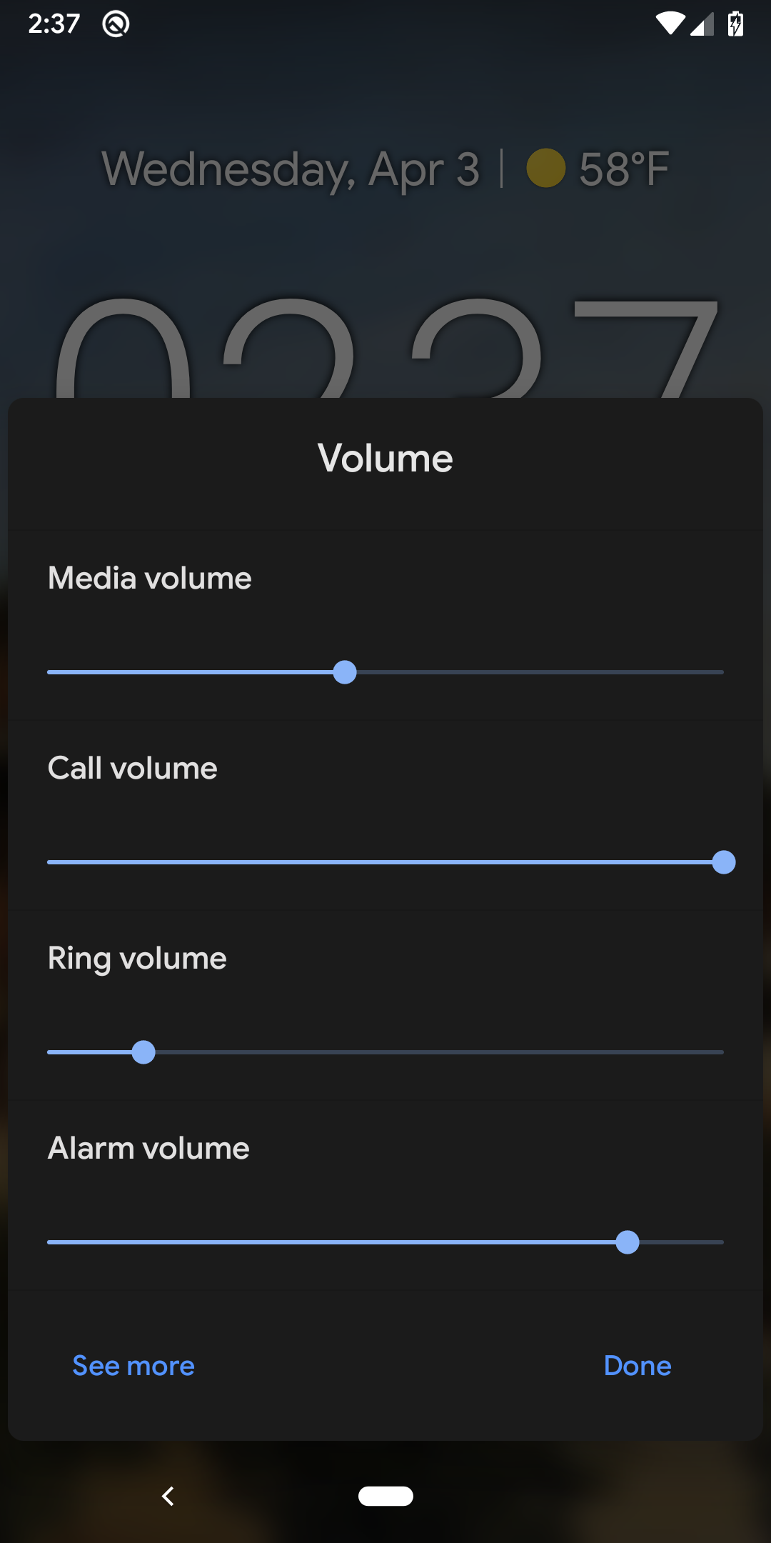 Android Q Beta 2 brings back individual volume channel