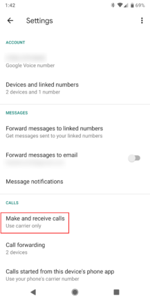 How to get Call Screen to work with your Google Voice number - Android Police 2