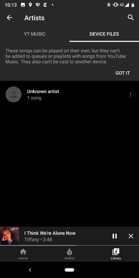 YouTube Music adds local in-app audio playback with new