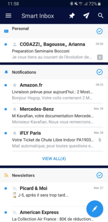 Spark Android Smart Inbox