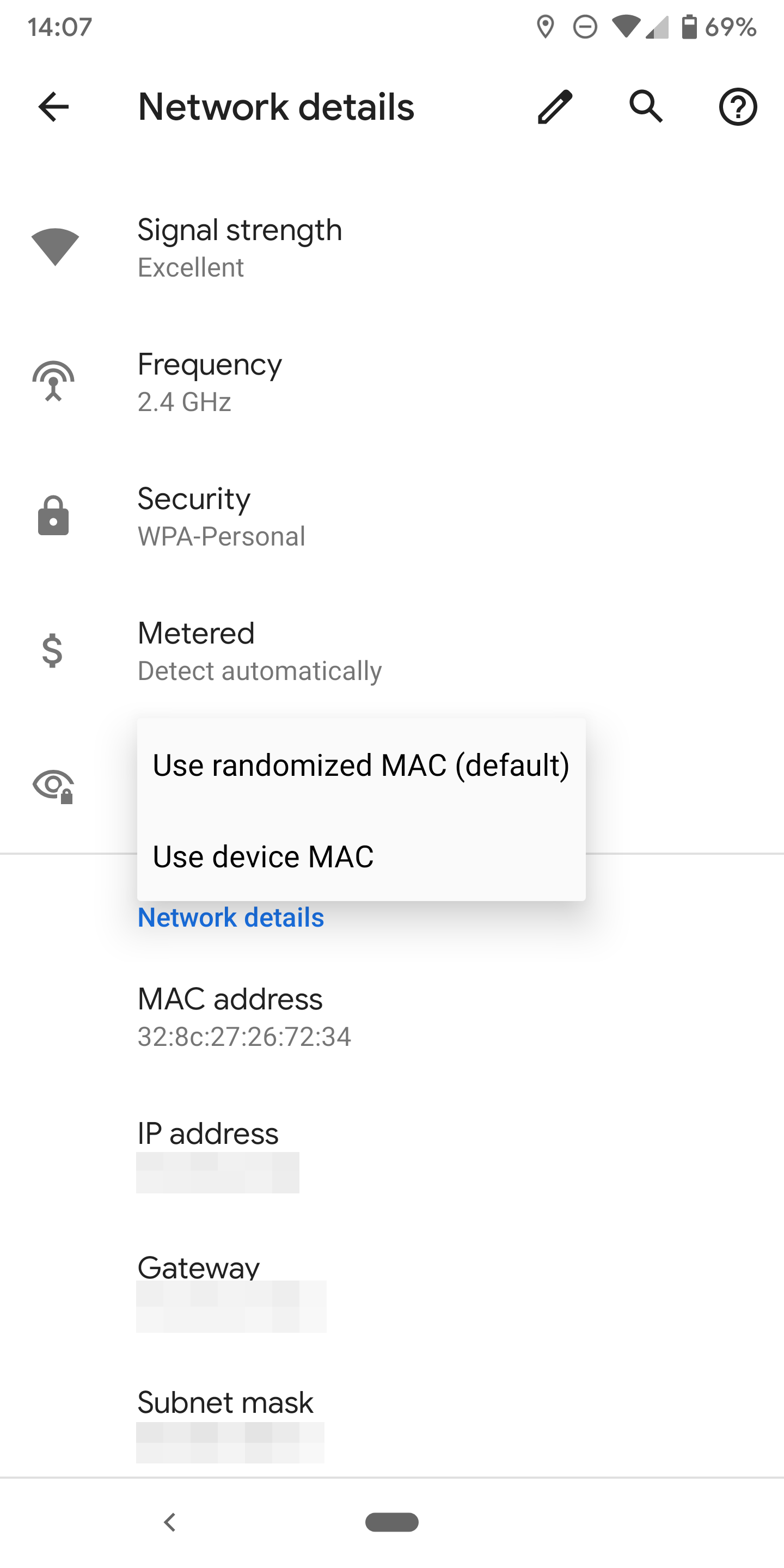 Android Q randomizes MAC addresses by default, with per
