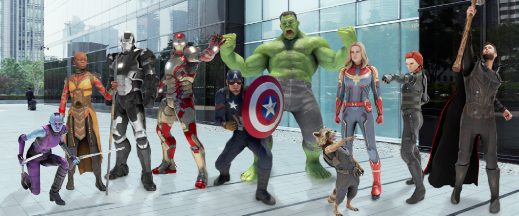 More Avengers AR Playmojis arrive just in time for the
